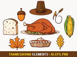 free thanksgiving vector elements by pixaroma on deviantart
