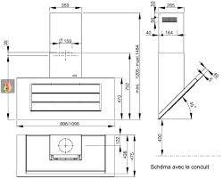 hauteur d une hotte de cuisine installation hotte aspirante hauteur d installation d hauteur