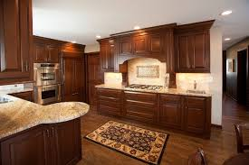 Granite Countertops With Cherry Cabinets Kitchen Cabinets Ideas Cherry Kitchen Cabinets With Granite