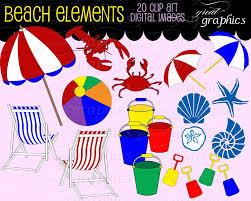 Clip On Umbrellas For Beach Chairs Beach Clip Art Beach Clipart Seashell Beach Umbrella Beach