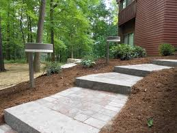 Round Patio Pavers by Front Porch Home Exteroir Design With Red Brick Wall Combine With