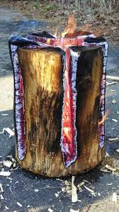 swedish torch swedish fire log logs and camping