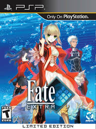 theme psp fate stay night aksys games announces fate extra limited edition level up news