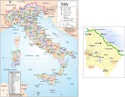 Italy Regions Map by International Study Of Re Regions Province Of Chieti Abruzzo Italy