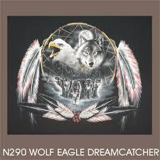 thunderbird trading wolf eagle dreamcatcher
