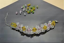 make bracelet bead images How to make a bead bracelet with a unique rhombus beaded bracelet jpg