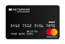 reloadable prepaid debit cards prepaid debit cards for personal commercial use netspend