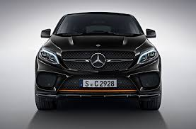 mercedes amg orange orangeart is the edition for mercedes gle coupe