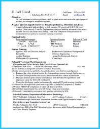 Technical Consultant Cv Powerful Cyber Security Resume To Get Hired Right Away
