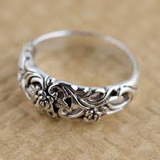 sterling rings wholesale images Silver ring s925 sterling silver jewelry wholesale antique style jpg