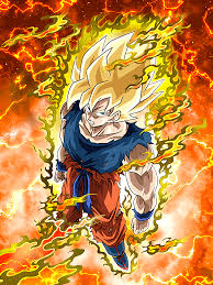 legendary super saiyan super saiyan goku dragon ball dokkan