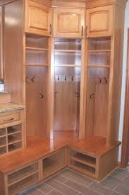 traditional laundry mud room design open locker closets 2 hurst