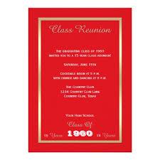 high school class reunion invitations personalized class reunion invitations custominvitations4u