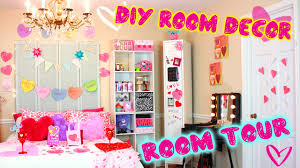 Easy Bedroom Diy Diy Room Tour Valentine Edition Diy Decor Ideas For V Day