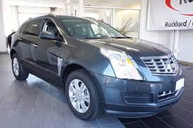 srx cadillac used used one owner 2014 cadillac srx luxury collection rockford il