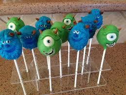 monster inc cake pops cakecentral com