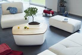 Creative Coffee Tables Creative Coffee Tables Featuring Built In Plant Pot Adorable Home