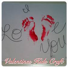 i love you valentines day kids craft all you need is paper paint