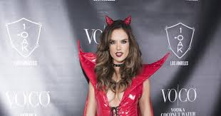 Coconut Halloween Costume Alessandra Ambrosio Photos Stars Halloween 2015 Spookiest