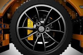 lego porsche lego technic porsche 911 gt3 rs alloy wheel autobics