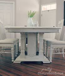 Diy Paint Dining Room Table S Table Gets A Makeover Hometalk