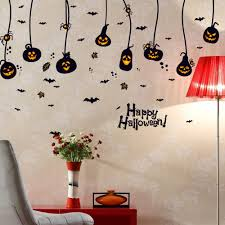 compare prices on stick to wall online shopping buy low price 3d diy pvc bat wall sticker decal home halloween pumpkin charm decoration wall decals stick removable