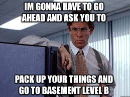 Office Space Boss Meme - office space basement basements ideas