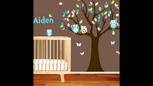 Tree Wall Decals For Nursery Baby Nursery Tree Wall Decal Ideas Youtube