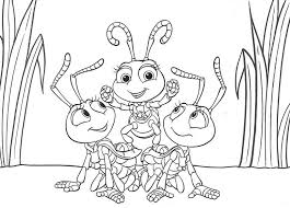 a bugs life coloring pages free coloring pages printables for kids