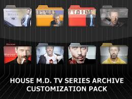 house m d tv series customization pack by knucklestheechidna53 on