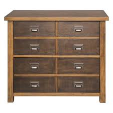 Lateral File Cabinet 2 Drawer by Martin Furniture Heritage 2 Drawer Lateral File Cabinet In Hickory