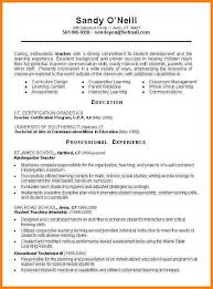 Free Teacher Resume Templates Sample Teacher Resume Templates Sample Teaching Resume Cover