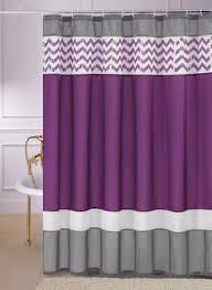 Purple Bathroom Curtains Valance Purple Shower Curtain Shower Curtains Pinterest