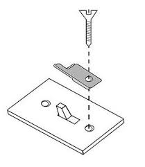light switch lock guard 5 toggle or rocker light switch guard child safe lock c
