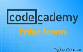 codecademy python answers u0026 solutions updated pythongen com