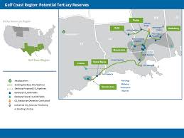 Dallas On Map by Denbury Resources Enhanced Oil Recovery Carbon Dioxide Co2 Eor