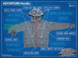 why the adv3nture hoodie is the only travel clothing you need