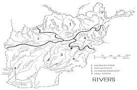 Map Of Indus River Center For Afghanistan Studies University Of Nebraska Omaha