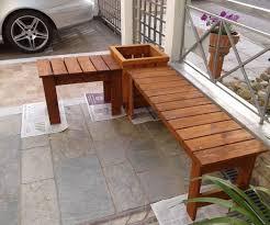 planter bench plans pallet furniture