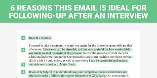 How To Send A Resume Through Email To Hr The Perfect Interview Follow Up Letter Business Insider