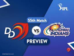 d d dd vs mi dream11 team prediction ipl match 55 preview