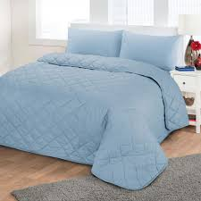 Plain Crib Bedding Images Luxury Soft Plain Dyed Polycotton Quilted Bedspread Quilt