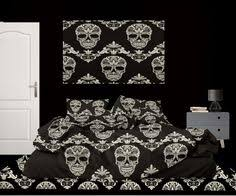 halloween comforter set with ghosts from extremely stoked comes