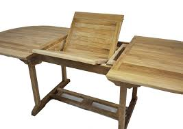 Teakwood Dining Table Oval Teak Outdoor Extension Dining Table 8 Teak Wood Arm Chairs