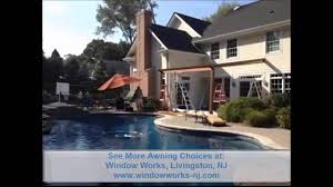 Retractable Awnings Nj Retractable Awning Company New Jersey Youtube