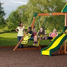 Backyard Adventure Playset by Prairie Ridge Backyard Adventure Cedar Outdoor Play Swing Set