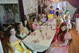 mrs potts tea party princess themed parties birthday parties