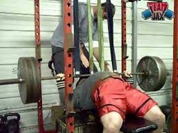 Bench Press Assistance Work Band Assisted Bench Press Youtube