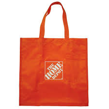 the home depot 7 25 in reusable shopping bag hdrubag the home depot