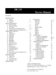 service manual amplifier electronic circuits